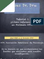 ¿Cómo hacer referencias en formato APA?