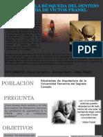 EL VALOR DE LA BÚSQUEDA DEL SENTIDO DE.ppt
