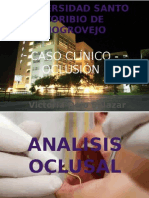 Caso Clinico Oclusion 2014