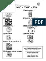 I Simulado 8ºs Anos (2014) (1)