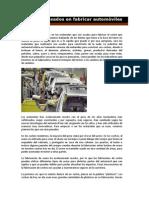 Materiales Usados en Fabricar Automc3b3viles