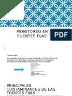 4 Monitoreo en Fuentes Fijas