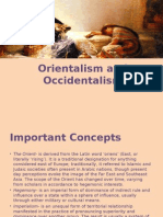 Orientalism and Occidentalism