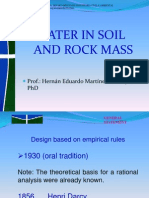 Water in Soil and Rock Mass