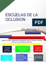 Escuelas de La Oclusion Dr Cordova [Autoguardado]