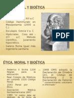Ética, Moral y Bioética