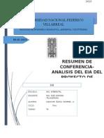 Resumen Del Analisis de Eia Del Proyecto Tia Maria