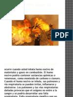 Inhalación Por Humo de Incendio