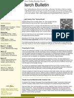 HVFC March Bulletin