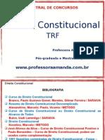 Direito Constitucional - Trf - Princípios e Dirietos e Garantias Fundamentais