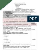 SESIÓN DE APRENDIZAJE Nº 0´6-segundo adicon y sustraccion de polinomios