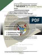 Analisis Plan de Seguridad Colegio San Agustin
