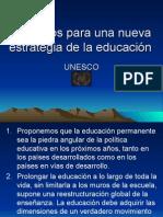 21 Puntos Para Una Nueva Estrategia de La educacion
