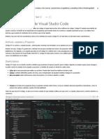 Los Fundamentos de Visual Studio Code