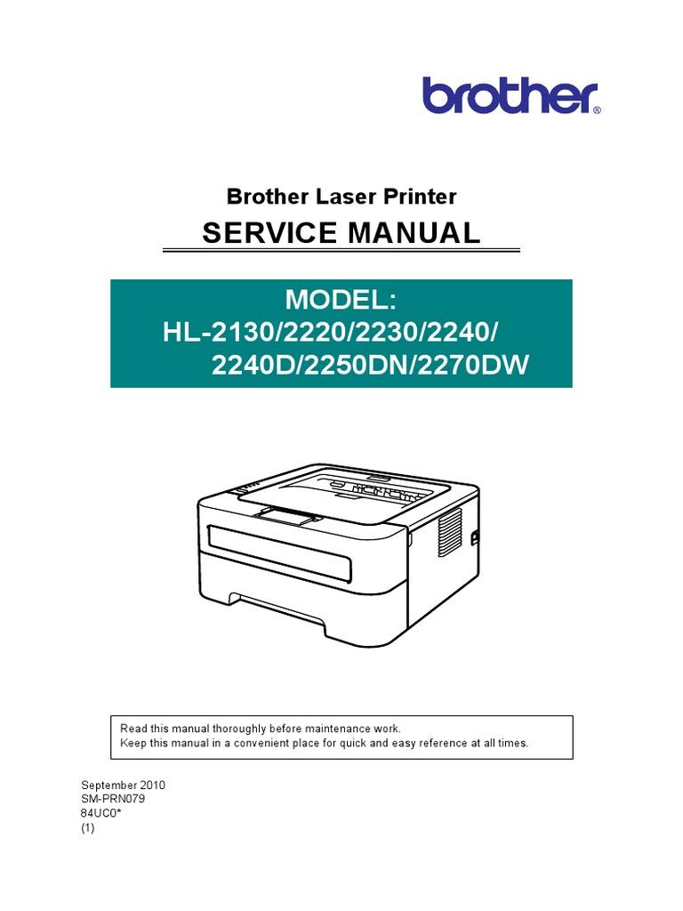 Brother HL-2130,2220,2230.2240D,2250DN,2270DW .pdf | 64 Bit ...