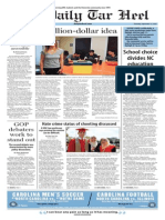 The Daily Tar Heel for Sept. 17, 2015