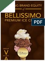 Brand Management and Analysis of Bellissimo Premium Ice Cream