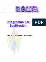 integracion Por Sustitucion