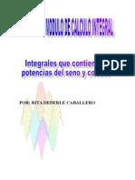 Clase10 Integrales Que Incluyen Potencias Del Seno y Coseno