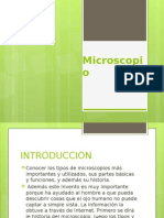 MICROSCOPIO - PLANTILLA DE POWER POINT