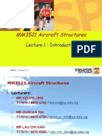 MM3521 Aircraft Structures Lecture 1 Introduction(1) (1)