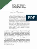Aplicabilidad Declaración Derechos Humanos
