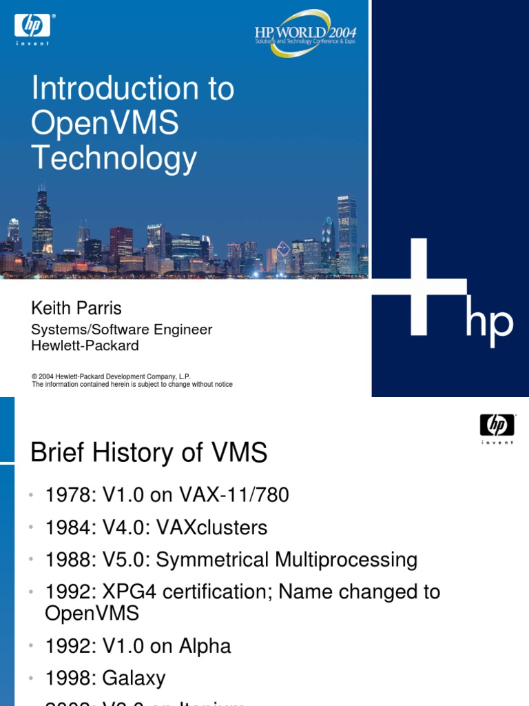 open vms | Computer Cluster | Computer Architecture