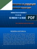 Vidrio Madera