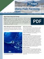 Stop Factory Fish Farming in the Ocean