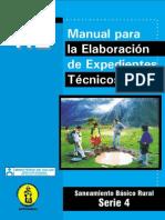 Manual Para La Elaboración de Expedientes Técnicos - MINISTERIO de SALUD (PERÚ)