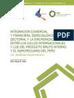 Integración comercial y financiera, factores internos y externos sobre el ciclo económico