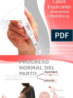 Anestesia Obstetrica