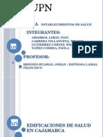 Edificaciones de Salud en Cajamarca