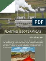 Plantas Geotérmicas