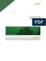 VizContentPilot 5.6 UsersGuide