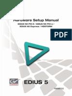 Edius Hw Setup Manual Nx Hdstorm