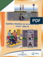 Normas Minimas de Accesibilidad NTON