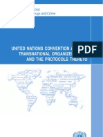 UN Convention Against Transnational Organized Crime and the Protocols Thereto