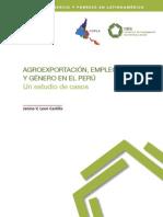 Agroexportacion, empleo y genero en el Perú. Un estudio de casos