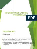 TRABAJO - Intermediación Laboral y Tercerización