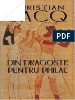 Christian Jacq - Din dragoste entru Philae.pdf