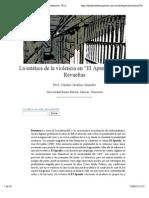 """La Estética de La Violencia en """"El Apando"""" de José Revueltas- Nº 37 Espéculo (UCM)"""