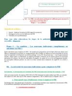Correction Du Thème 111 – Etape 3 La Synthèse Le PIB Un Indicateur Pertinent Et Suffisant Pour Mesurer La Croissance Et Le Bien Être