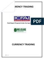 a report on currency trading
