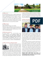 The Doon School - Profile, August 2015
