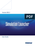 Simulation Launcher User Guide