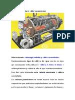 Caldera Pirotubular y Caldera Acuotubular