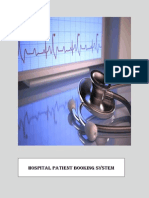 Project on Hospital Management using Oracle Forms