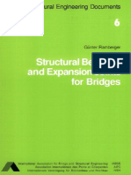 Structural Bearings and Expansion Joints for Bridges