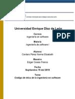 Código de Ética de Ingeniería Del Software2